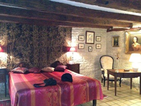 Moulin de Fresquet: Bedroom downstairs