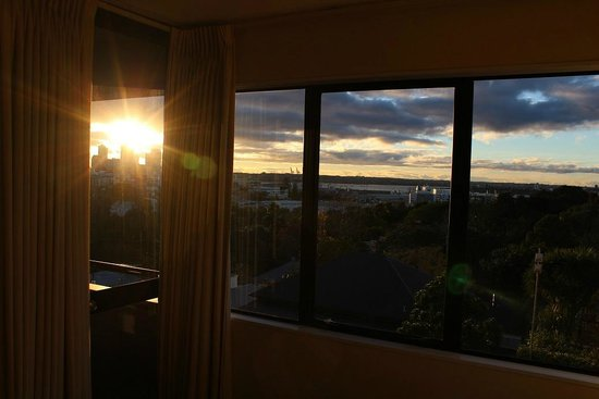 Quality Hotel Parnell : Wonderful view over CBD