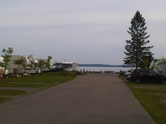 Kiwanis Oceanfront Camping: A great view from the back of the Park
