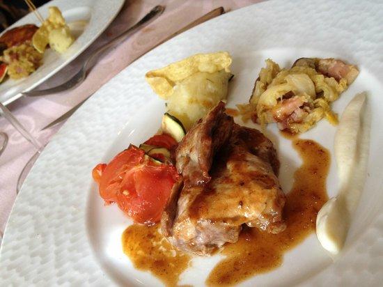 Restaurant Le Vieux Puits : duck and foie gras