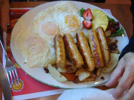 Cora's Breakfast and Luch: Breakfast.