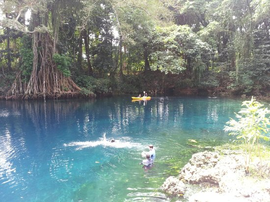 Oyster Island Resort : Blue Hole -only approx 45 -60 min kayak away...