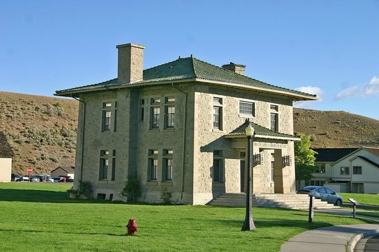 Fort Yellowstone Historic District: US Army District Engineer HQ - Ft Yellowstone