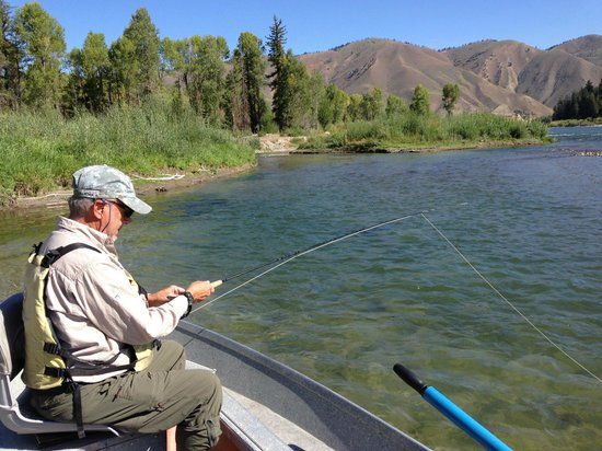 Snake River Angler & Scenic Float Trips: Typical section of Snake River