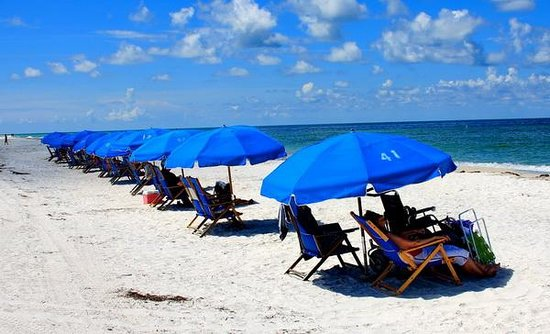 Caladesi Island State Park: Some serious relaxation