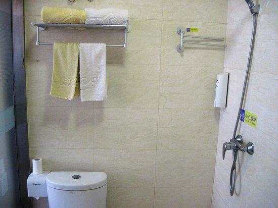 Yake Inn (Cangzhou Huaxia): Bathroom