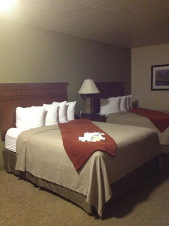 BEST WESTERN Town & Country Inn: Queen Beds
