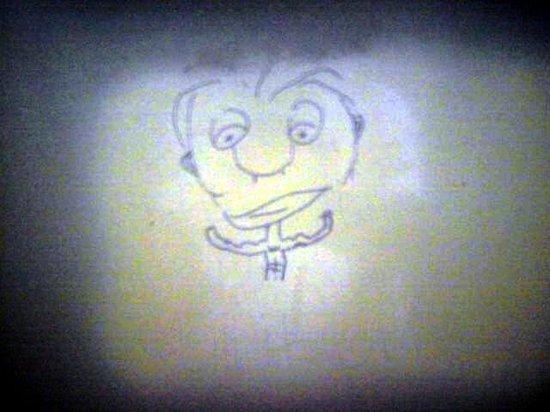 El Coronado Resort : Mens Room Graffiti