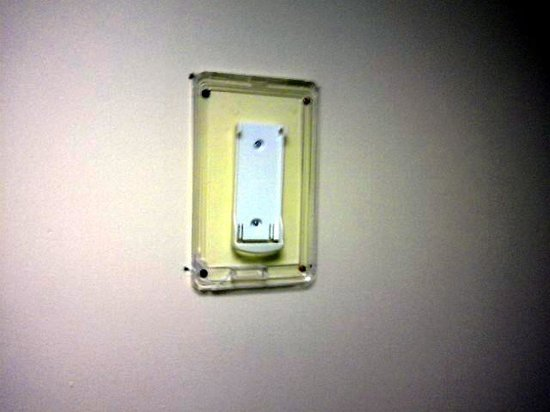 El Coronado Resort : Mens Room Empty Wall Bracket in Mens Room for something missing ???