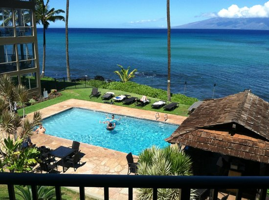 Noelani Condominium Resort : View from studio 214