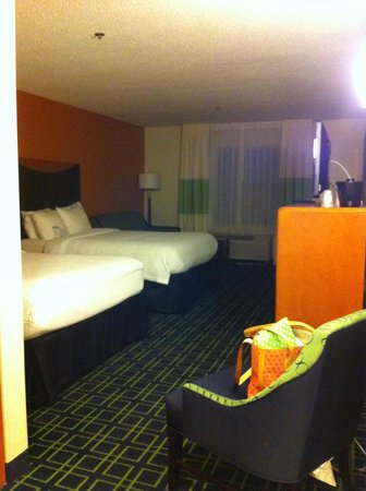 Fairfield Inn & Suites Denver Airport: Contemporary decor