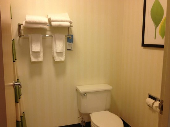 Fairfield Inn & Suites Spearfish: Small space but clean