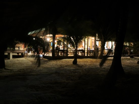 Maya Beach Hotel Bistro: View from the shoreline