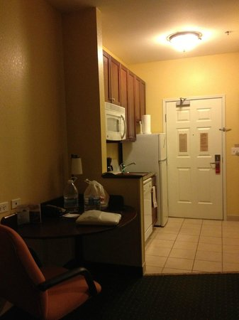 TownePlace Suites Pocatello : View from the pull out love seat