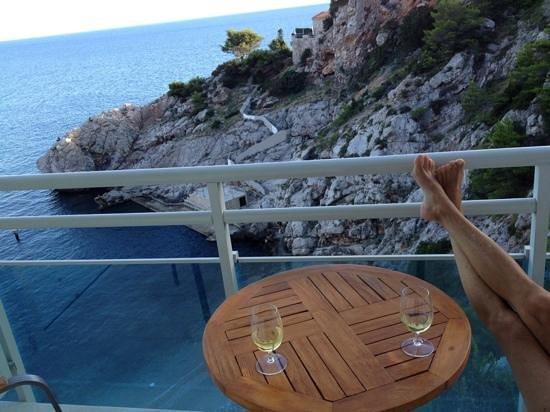 Hotel Bellevue Dubrovnik : The view