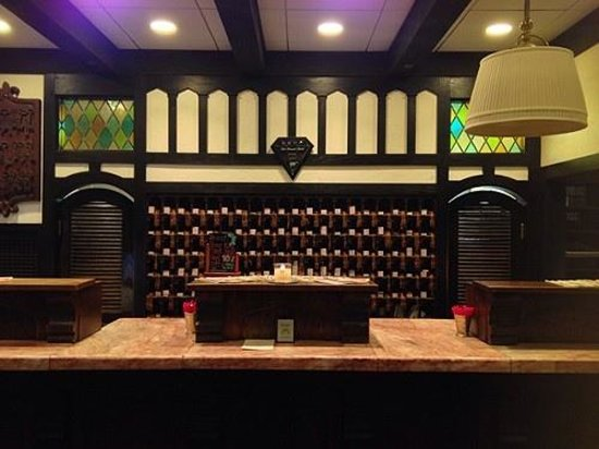 The Cheshire: front desk