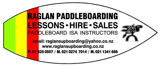Raglan Paddleboarding : look out for our trailer with our sign