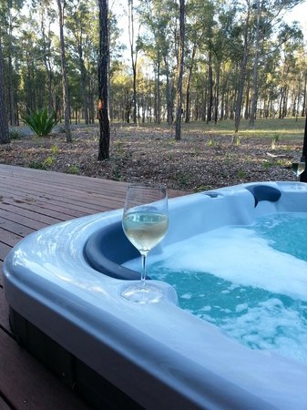 Deja Vu Estate: LOVED the spa