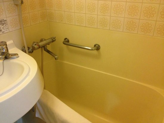 Hotel New Plaza Kurume: 浴室