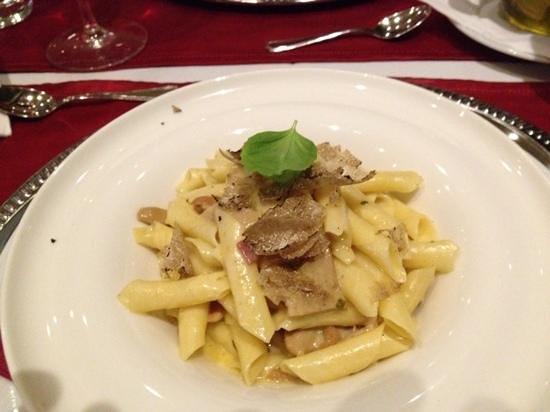 Restaurant Dubrovnik : Pasta with black truffles and porcini mushrooms