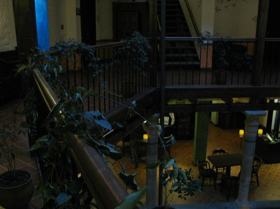 La Casona de la Ronda Heritage Boutique Hotel: View from 1st floor