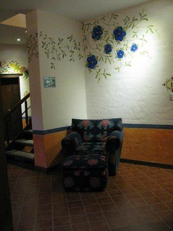 La Casona de la Ronda Heritage Boutique Hotel: Comfort chair... amazing
