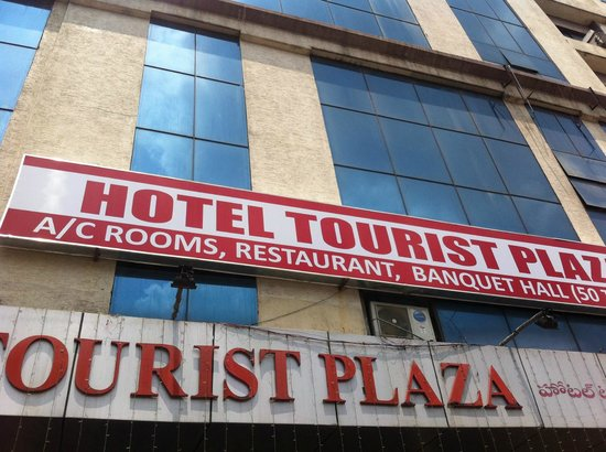 Tourist Plaza Hotel: front view of hotel tourist plaza