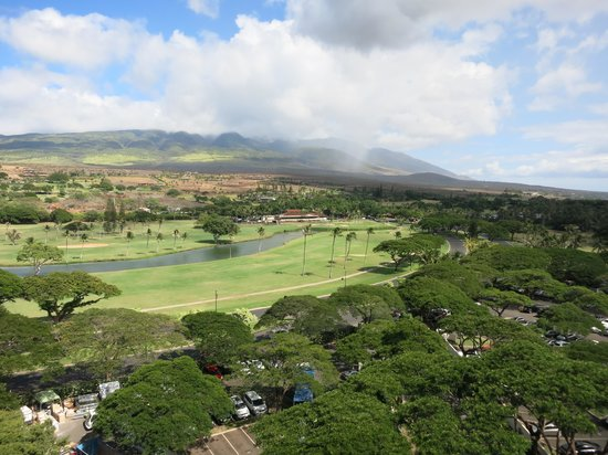 Westin Maui Resort And Spa : view from room