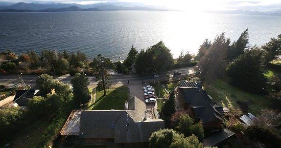 Apart Hotel del Arroyo: Vista aérea