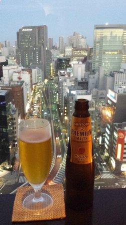 Dai-ichi Hotel Tokyo: drink in the restaurant