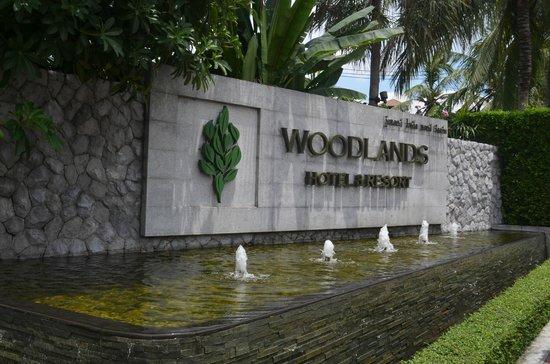 Woodlands Hotel & Resort: Парадный подъезд