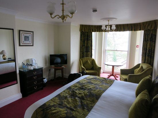 The Fowey Hotel: Our Room