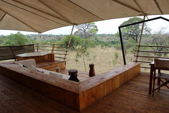 Serengeti Bushtops Camp: View from our tent