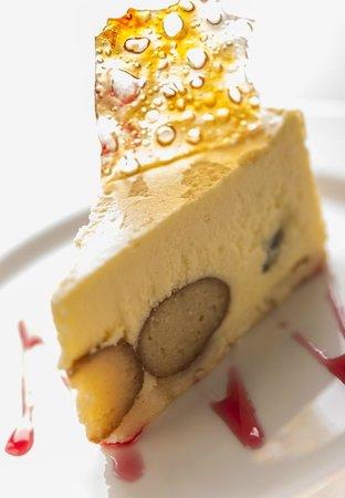 Maya Restaurant And Bar Gulab Jamun Cheesecake