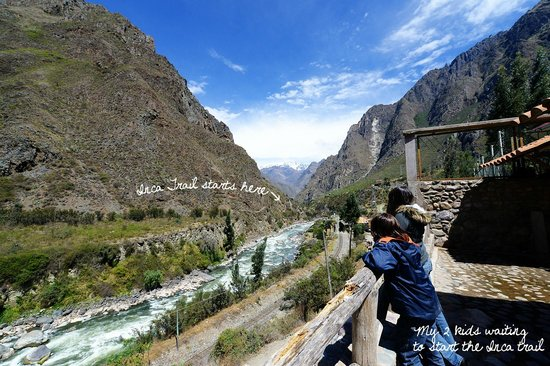 Inca Land Adventures Day Tours: The Inca Trail begins