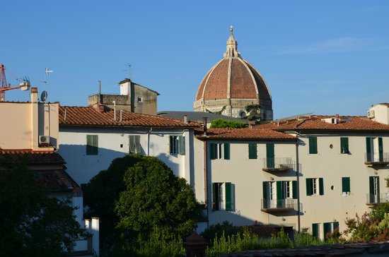 Residenza Il Villino B&B: Morning view of the Duomo from our window