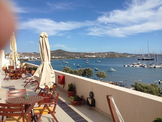 Portiani Hotel: Nice comfortable balcony