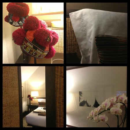 Tamarind Village: Room decor