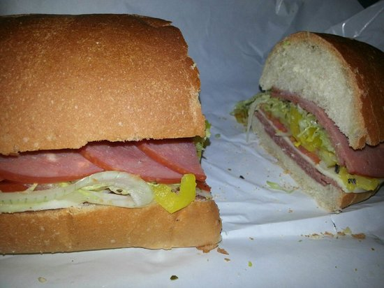 Terry's Sub Shop: Terry's special