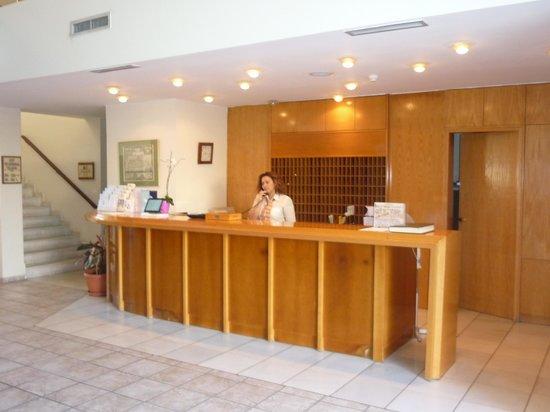 Minos Mare Hotel : receptie
