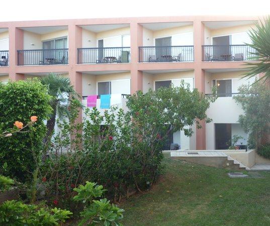 Minos Mare Hotel : hotelkamers