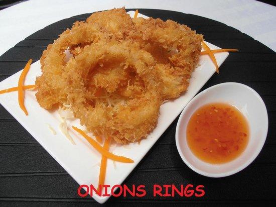 Jungle Cafe : Onions Ringe