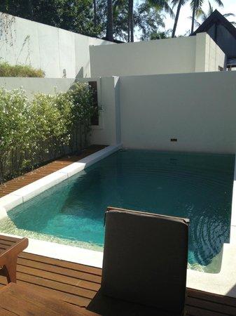 SALA Samui Resort And Spa: Private pool in pool vila suite