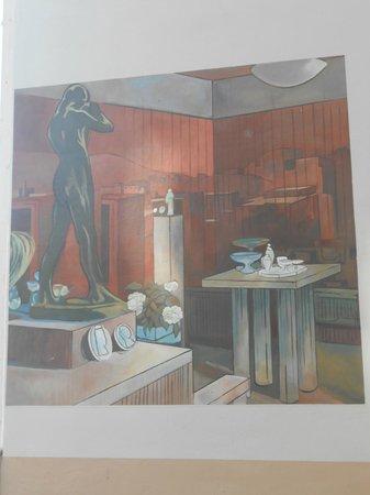 Musee Urbain Tony Garnier: Habitations en communs, intérieur - détail