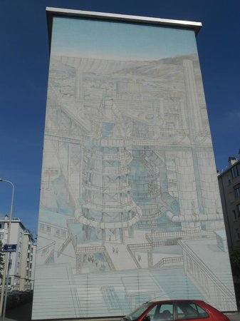 Musee Urbain Tony Garnier : Les hauts fourneaux