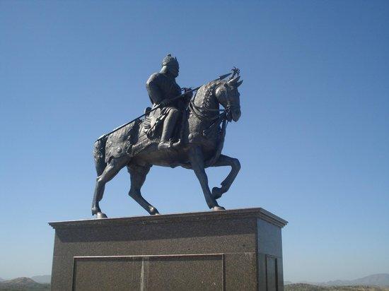 Rajsamand, الهند: Maharana Pratap @ Chittorgarh Fort