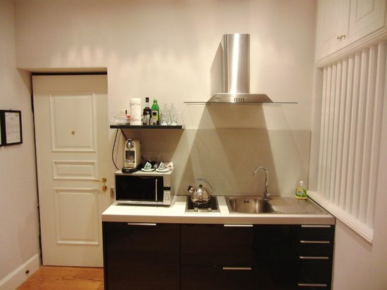 Hotel Cortina: Apartment 3 - Fully functional kitchen