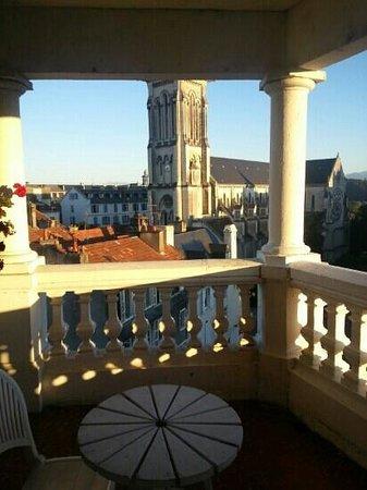 Hotel Regina : terrasse du dernier étage