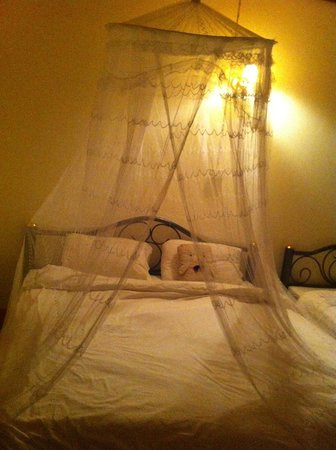 Jammee Guest House: Sweet Mosquito net