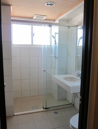 Cullinan Hotel: large shower room